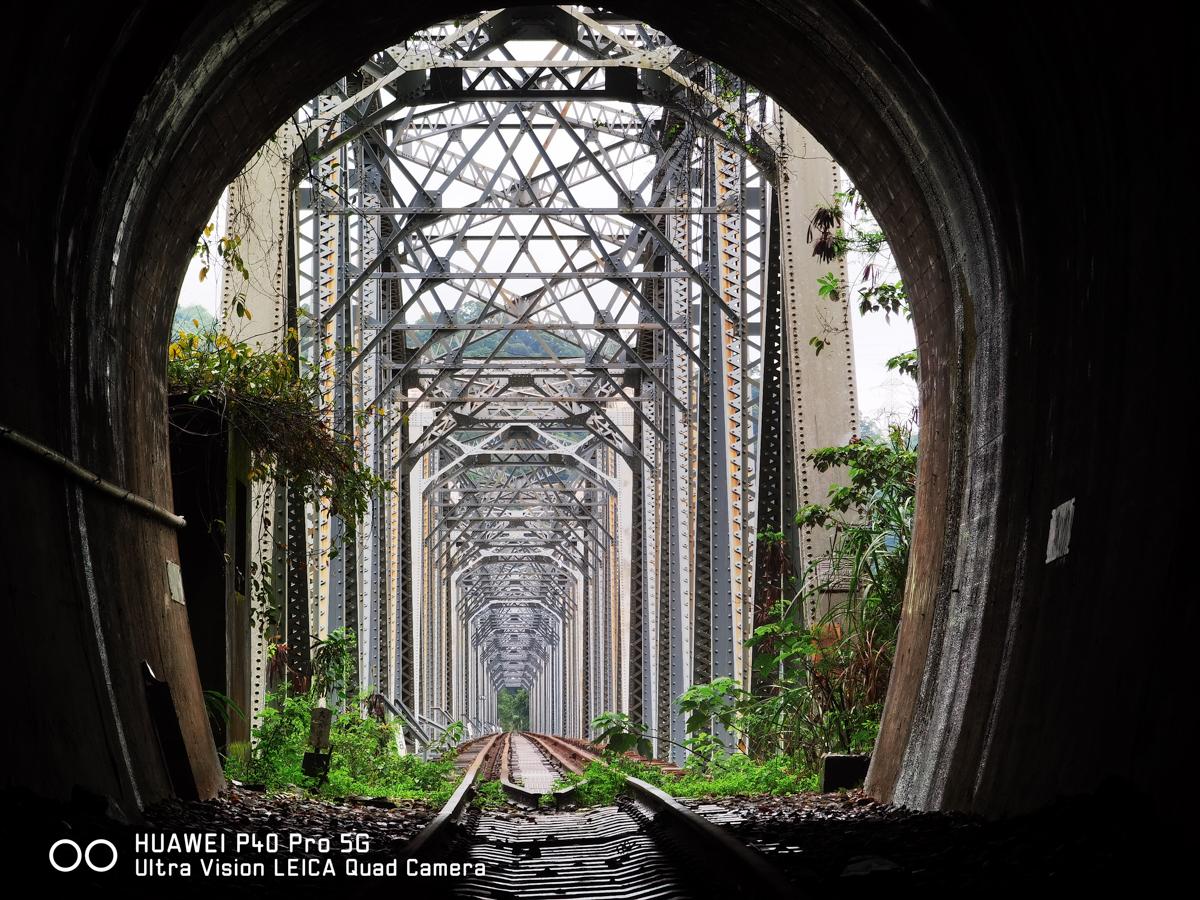 台中舊山線大安溪鐵橋、花樑鐵橋