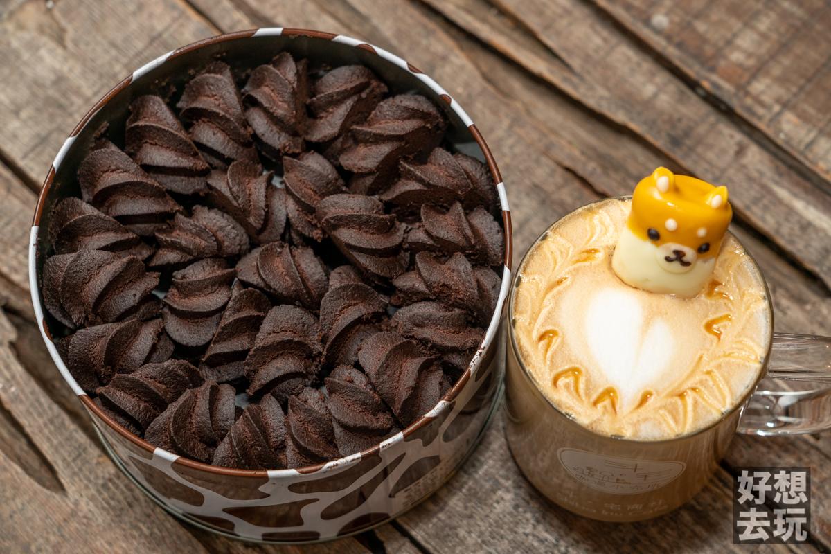 花蓮伴手禮短腿阿鹿巧克力曲奇餅