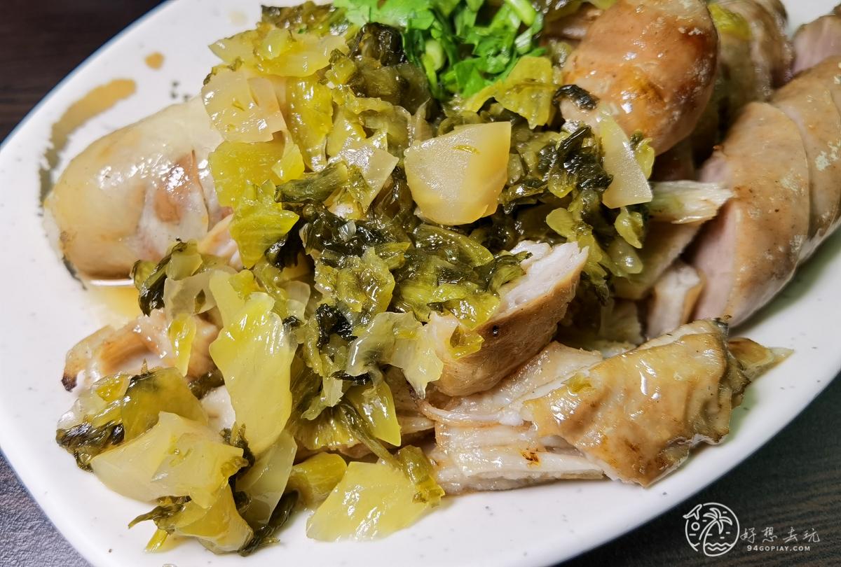 花蓮美食福建街香腸糯米腸