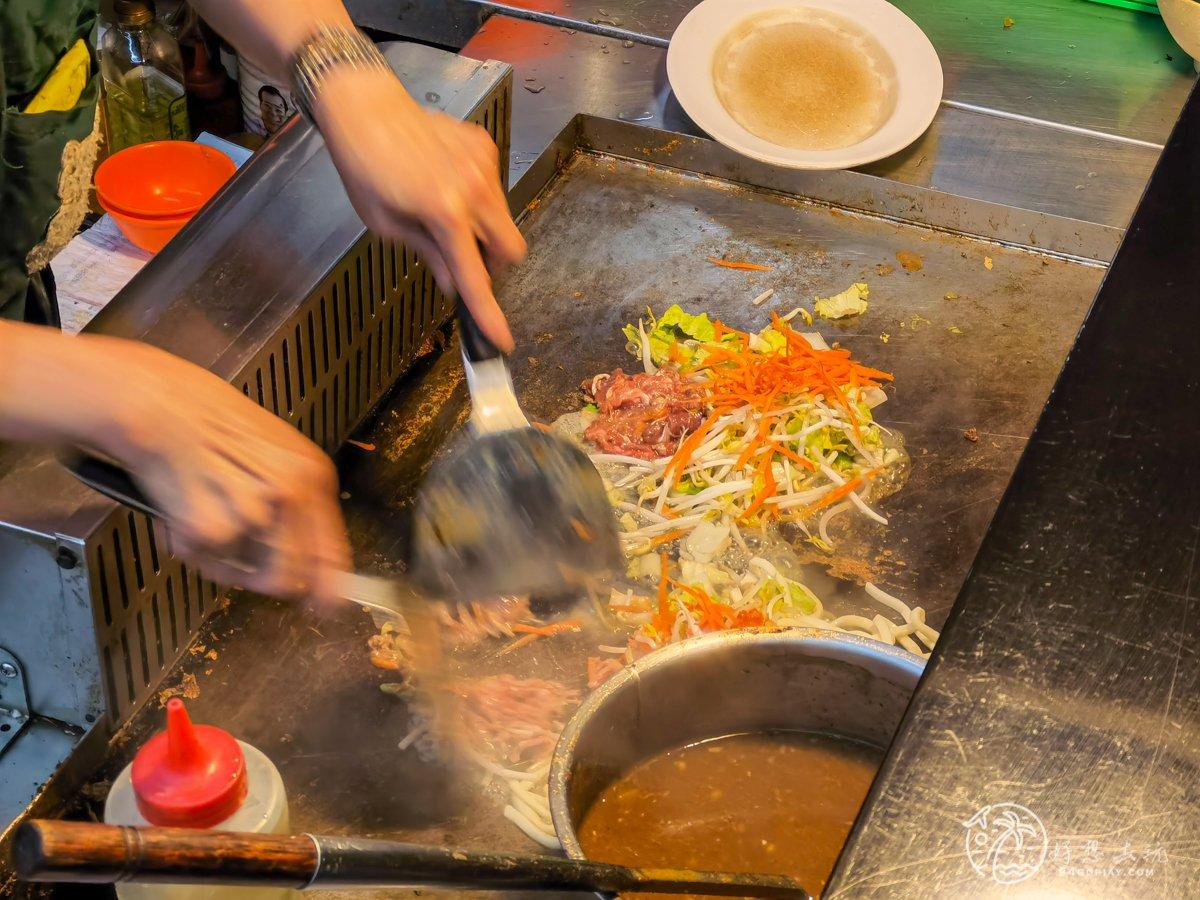 基隆瑞芳美食廣場鐵板熱炒