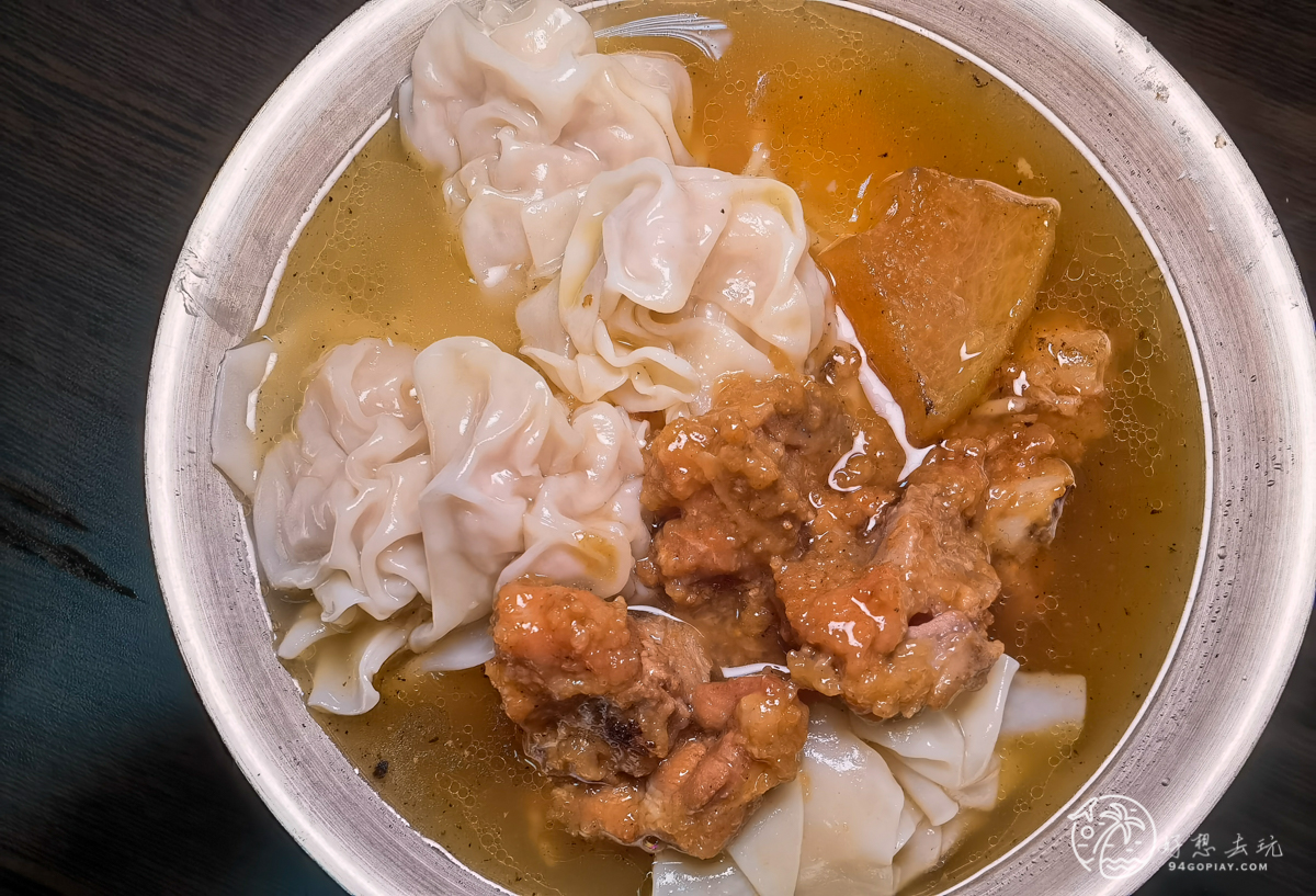 阿華滷菜、排骨麵